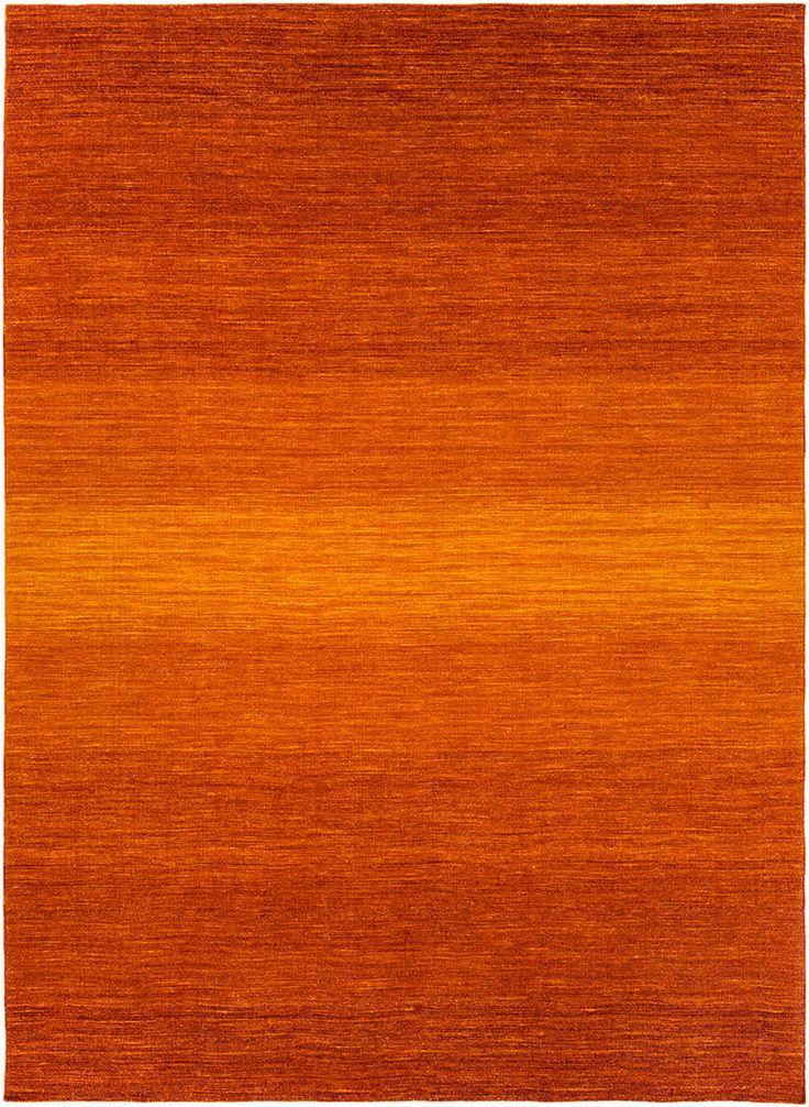 Chaz Tangerine/Burnt Orange Area Rug