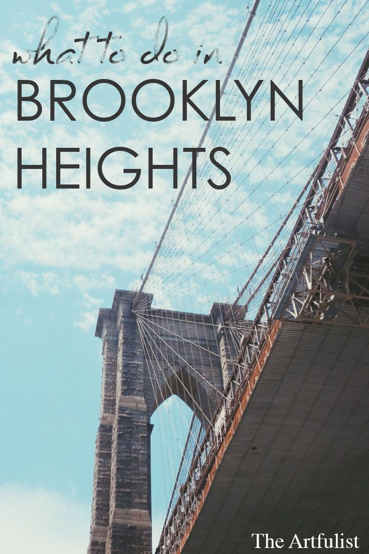 Visit NYC on a budget and see it as the locals do. A neighborhood guide of Brooklyn Heights, New York