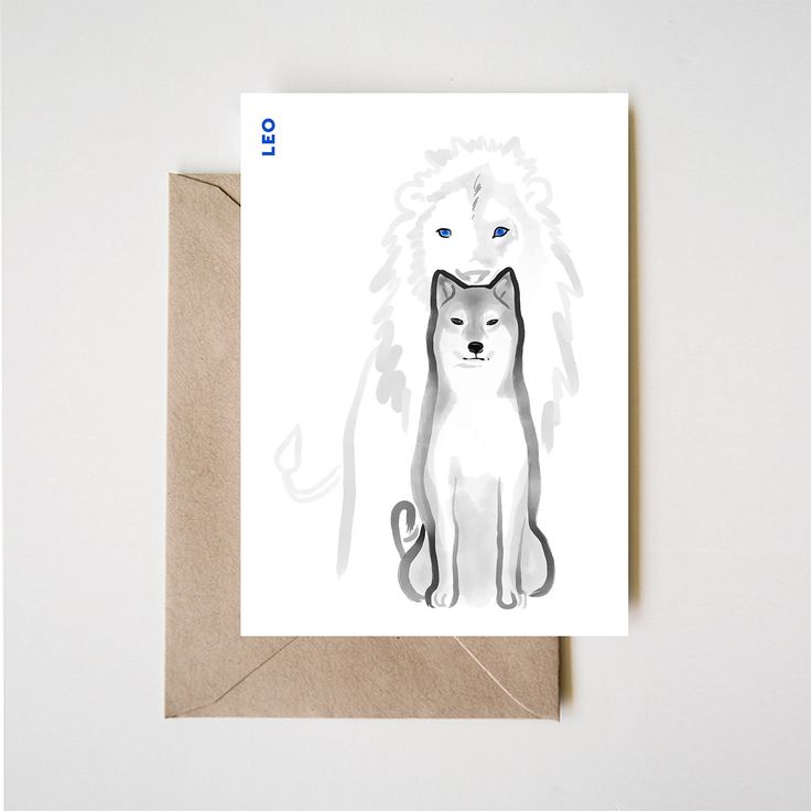 """Nothing says """"zen"""" more than these whimsical, modern style #dog zodiac illustrations from Rice and Ink! Take a look: http://qoo.ly/mut2m"""