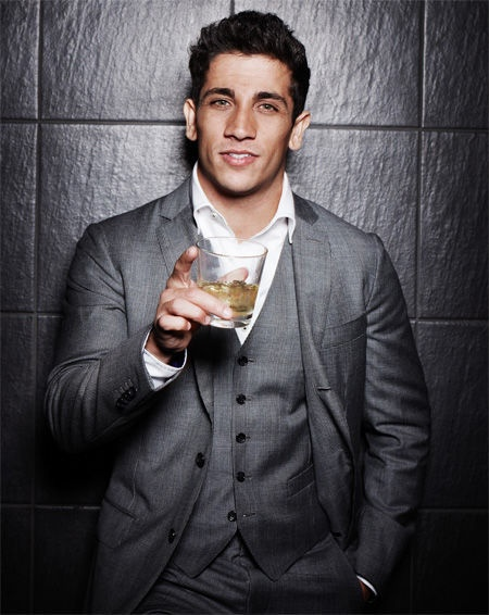 His name is Firass Dirani... Came across him in a movie....wowza!!!!!