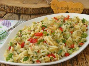 Beş çaylarında, misafir ikramlarında gönül rahatlığıyla tercih edebileceğiniz harika bir salata tarifi...