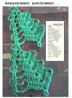 Enfeite Natalino em Crochê.  /  Ornament Natalino Crochet.                                                                                                                                                                                 Mais