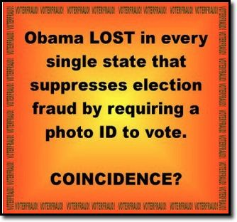 "Please...help ""true"" the vote...stop voter fraud.  Insist your state support voter ID laws. Contact your state reps and let them know how you feel."