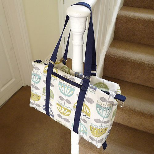 The It's a Cinch Tote PDF Bag Pattern - now available