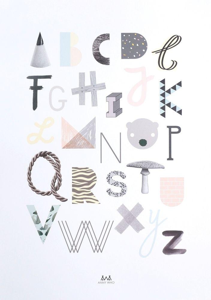 ABC, printti