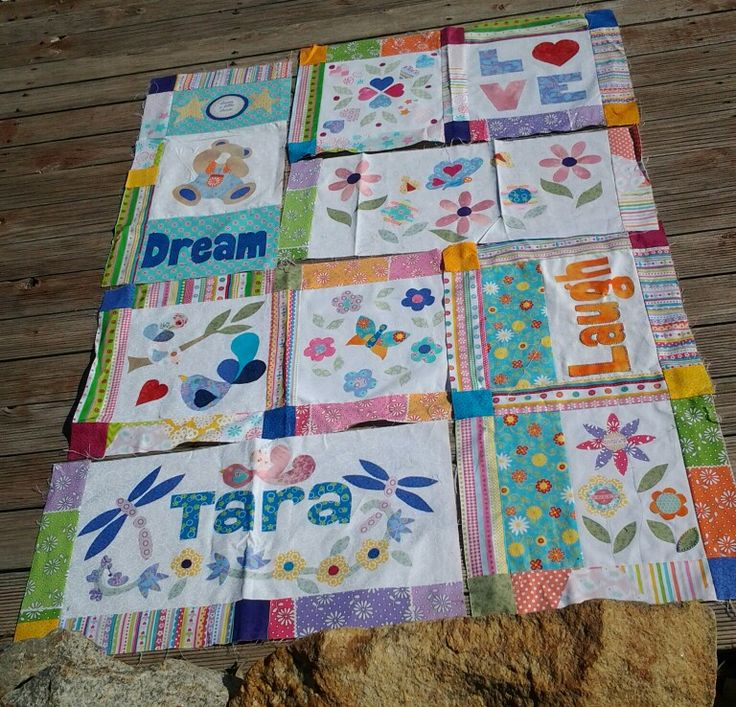 Second quilt in progress.  This one is for my god daughter.  Joy Ott designs, hand applique