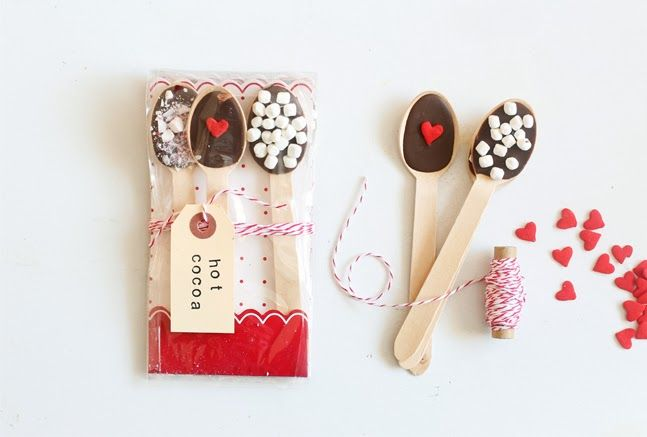 oh my little dears: Spoon full of Marshmallows - sweet gift idea!