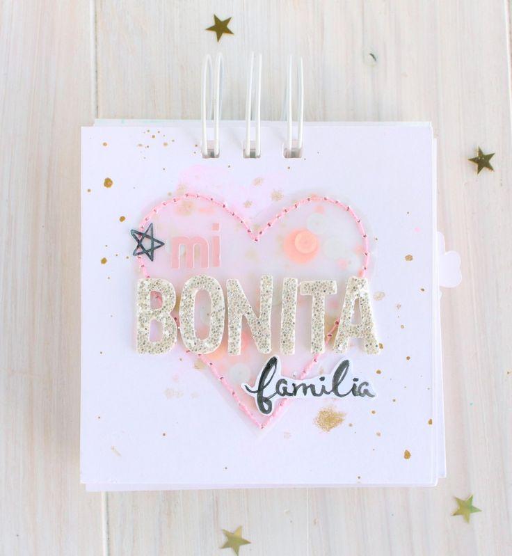"""Mini álbum """"Mi bonita familia"""""""