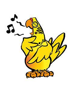 Het tweede deel van het luisterverhaal gaat over gele vogels!