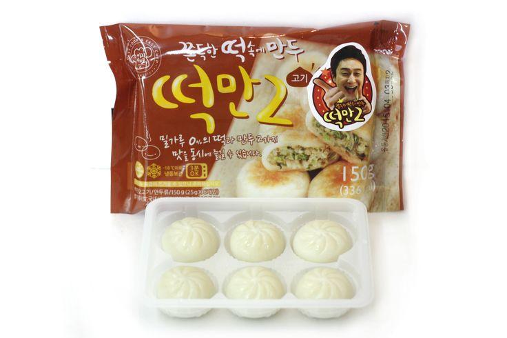 Easy chef / Dduck-Man2  Dumpling Package Deisgn For Convenient store