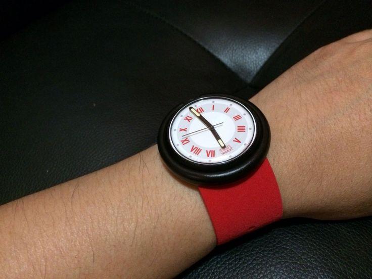 Red tibet model pop swatch