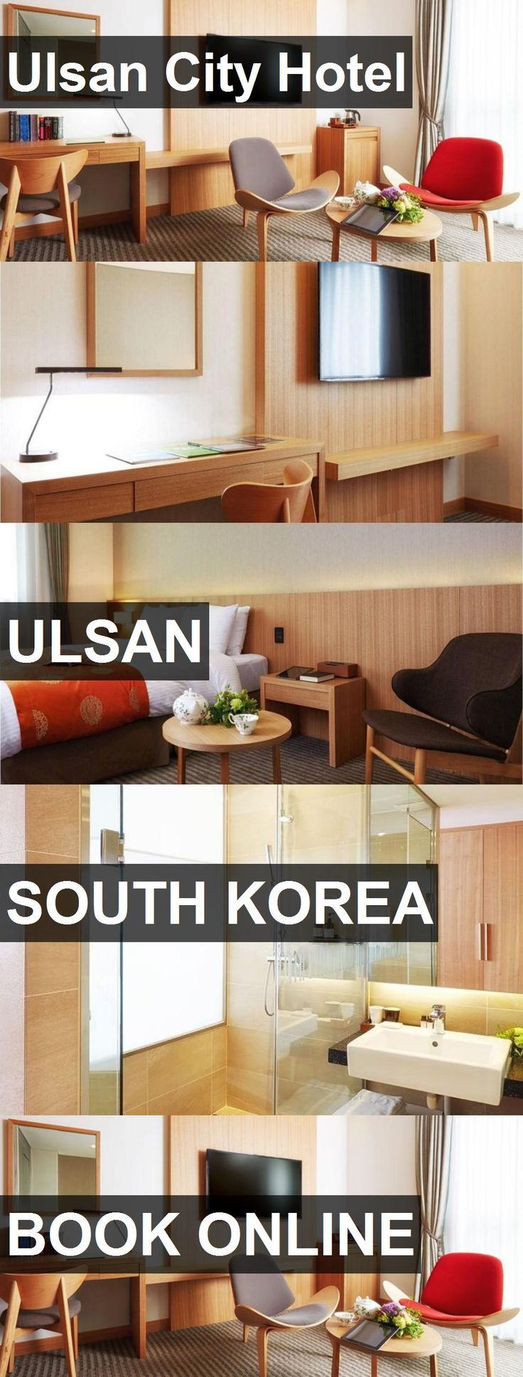 Ulsan City Hotel in Ulsan, South Korea. For more information, photos, reviews and best prices please follow the link. #SouthKorea #Ulsan #travel #vacation #hotel