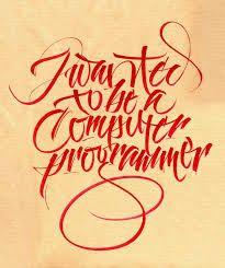 Resultado de imagen para tipografias caligraficas