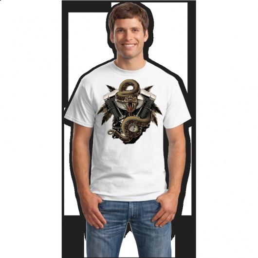 Armed snake tricouri online