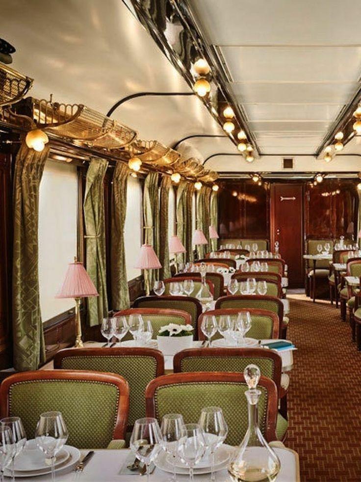 Qui veut embarquer à bord de l'Orient Express ? Restaurant éphémère par Yannick Alléno
