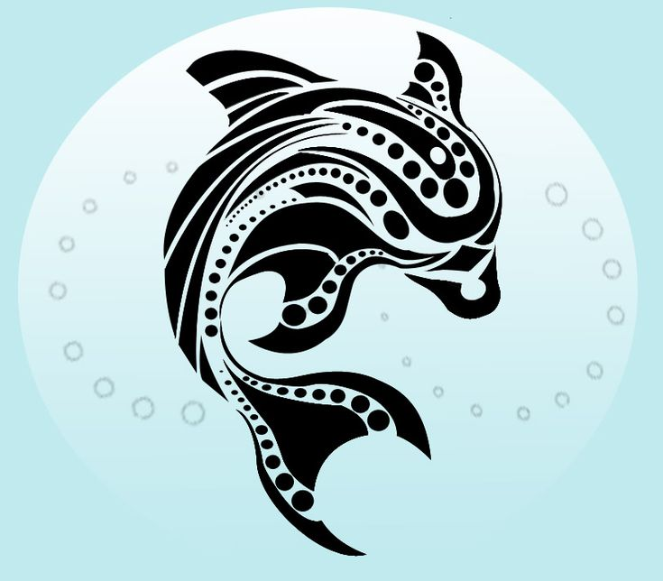 Best 25+ Tribal Dolphin Tattoo Ideas On Pinterest