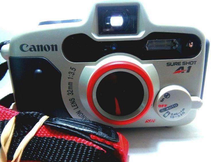 CANON SURE SHOT A1 35MM FILM WATERPROOF CAMERA   eBay