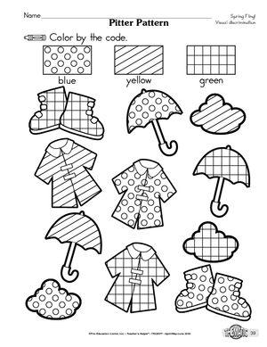 visual discrimination exercises preschool - Tìm với Google