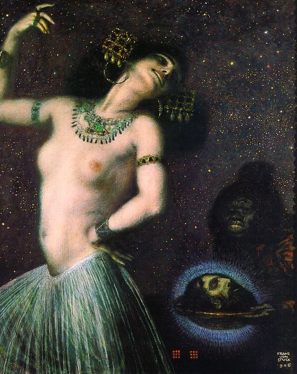 "belle dame sans merci ""Salomé"", by Franz von Stuck"