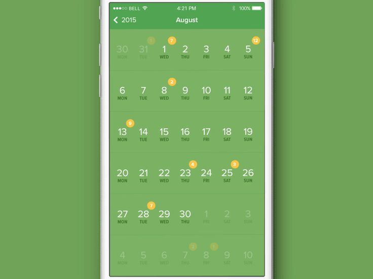 Hi everyone, we love to keep the working process organized as all members of dribbble community.  So we decided to look at the everyday calendar from a different angle. As you see it makes easier f...