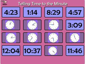 Time/Clocks - Interactive Learning Sites for Education