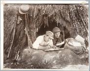 General Miaja's Militiamen Writing Letters