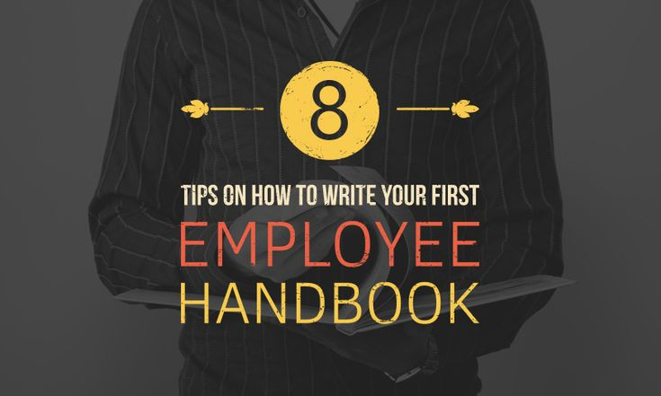 8 tips for employee handbook