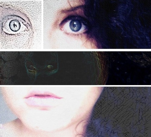 My deconstructed face by Esté Smit.