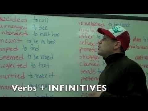 Инфинитив и герундий (to do - doing) | English is Fun!