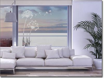Sichtschutzfolie mit Pflanzen als Sichtschutz für Glas