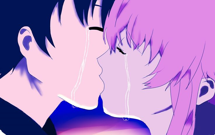 Yuuki and Yuno from Mirai Nikki (The Future Diary)