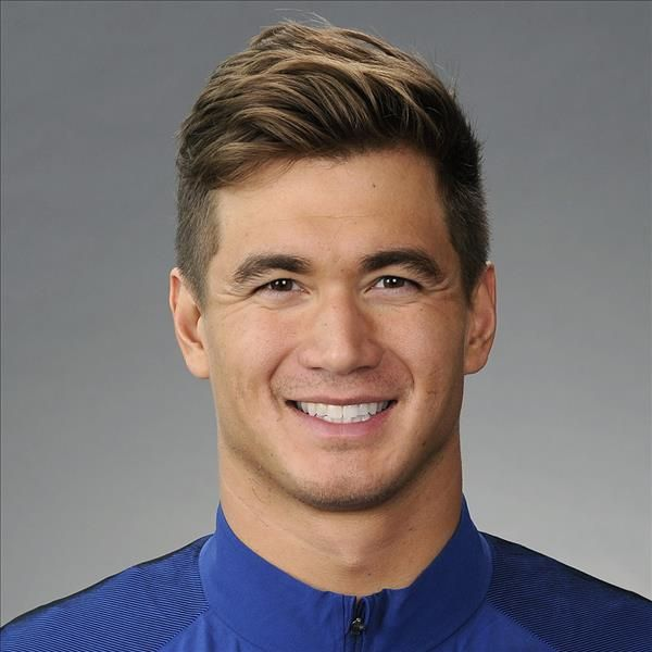 Nathan Adrian portrait for 2016 Olympics