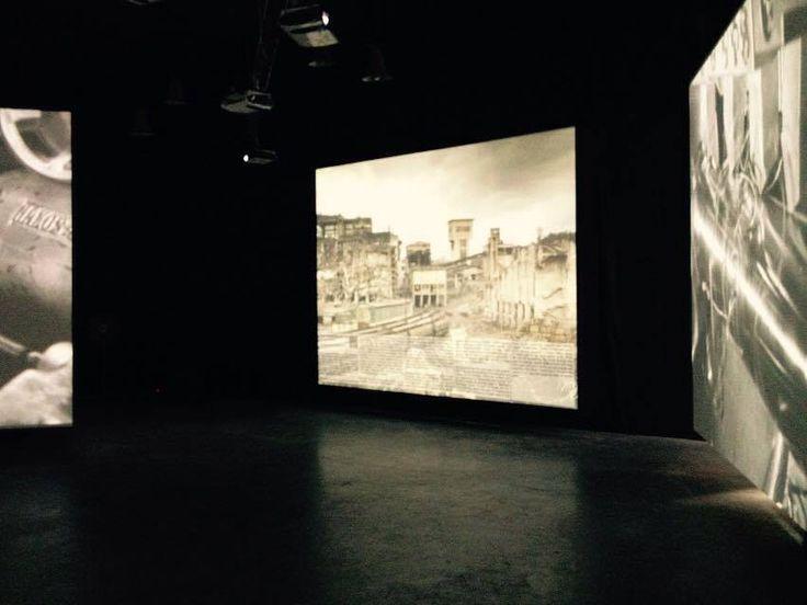 Romanian Pavilion, Venice Biennale 2014, #Post-IndustrialStories #SiteUnderConstruction