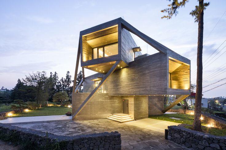 Хотели бы в таком жить? В Южной Корее построили жилой дом, похожий на бункер - Недвижимость onliner.by