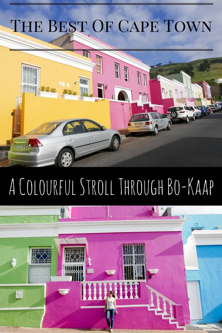 A Colourful Stroll Through Bo-Kaap Cape Town via christineknight.me