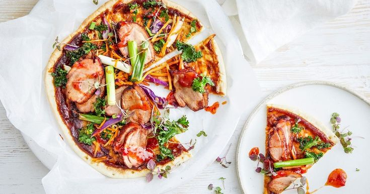 Grab a slice of this Chinese inspired pizza, topped with Hoisin sauce, peking duck breasts and chilli sauce.