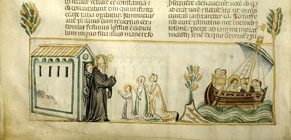 Vitae patrum, MS M.626 fol. 131v - Images from Medieval and Renaissance Manuscripts - The Morgan Library & Museum