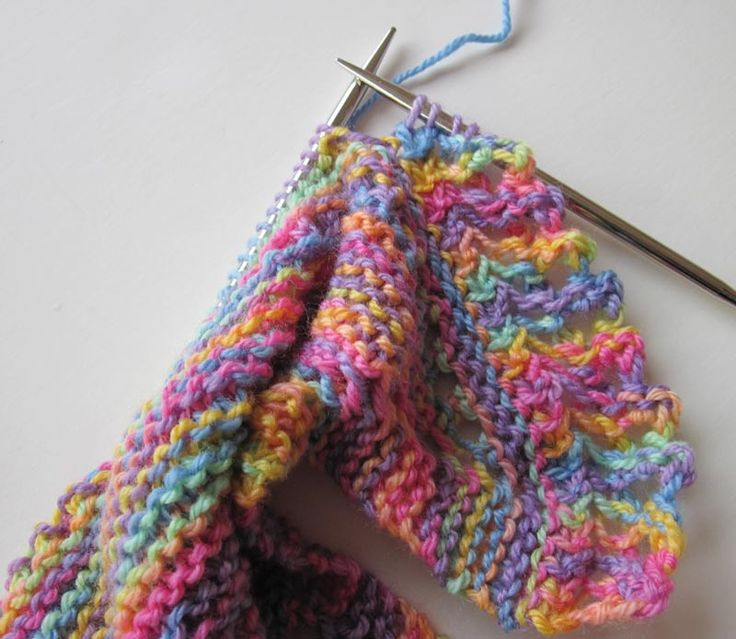 Knitting Edges And Borders : Best images about knitting borders and edges on