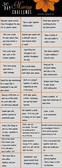 30 Day Marriage Challenge