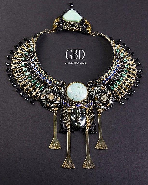 Necklace, handmade necklace.  Fair Masters - handmade ISIS - Finalist Bead Dreams 2011.  Handmade.