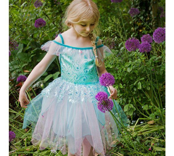 Buy Aqua Fairy Costume - 6 to 8 Years at Argos.co.uk, visit Argos.co.uk to shop online for Children's fancy dress, Fancy dress, Clothing