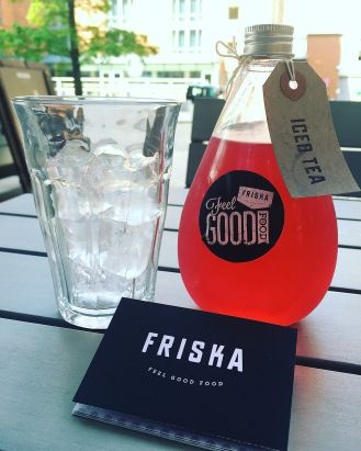 Red Berry and Hibiscus Iced Tea - Friska