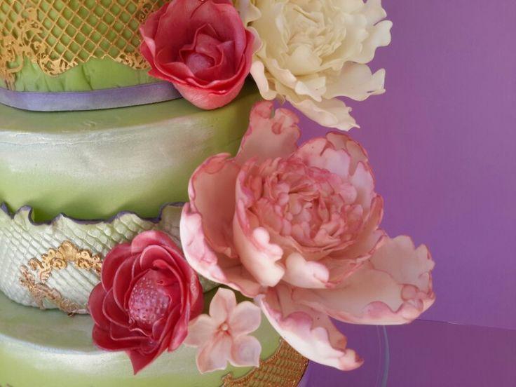Wedding cake @macachoux 2