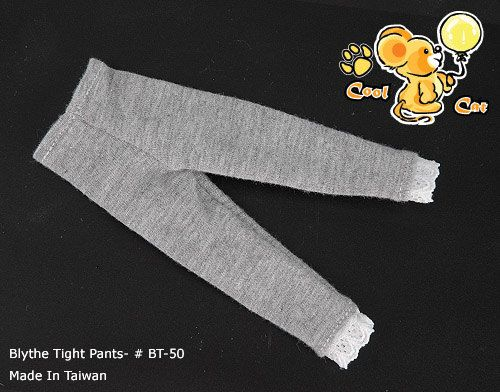 BT-50 Blythe Tight Pants / Trouser # Grey with Lace