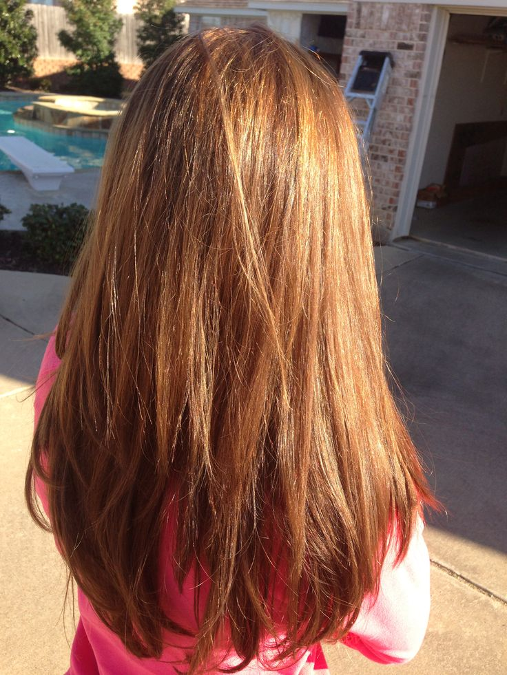 Light Brown Hair With Caramel Highlights Wardrobe