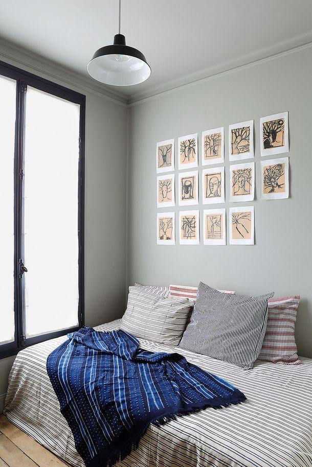 Студенческая квартира в Париже, 25 м²