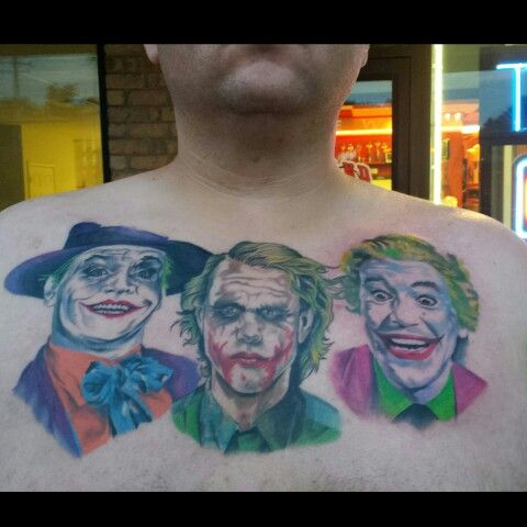 Jokers trilogy tattoo