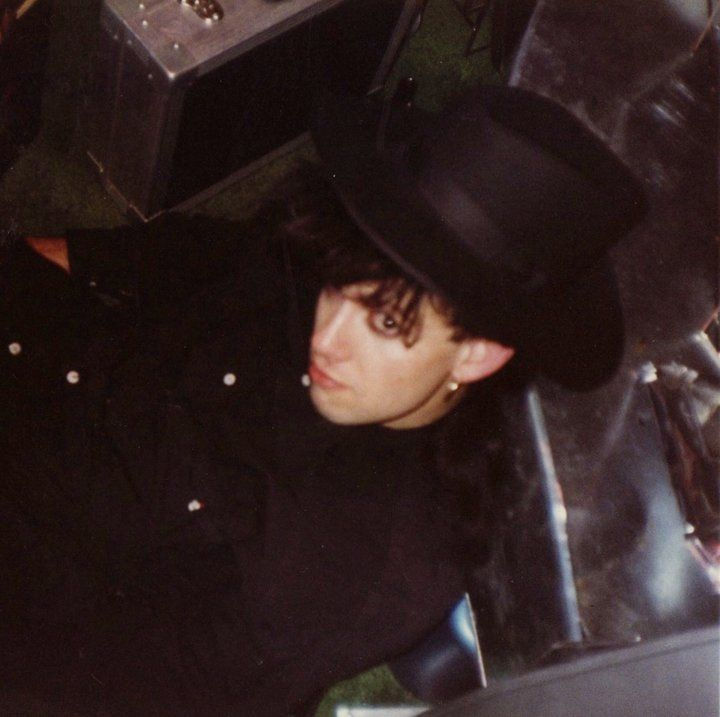 Drunk ;)) on the floor in the DRUMS dressing room after our first USA & New York show 22-03-1988 (c) Ronny Moorings