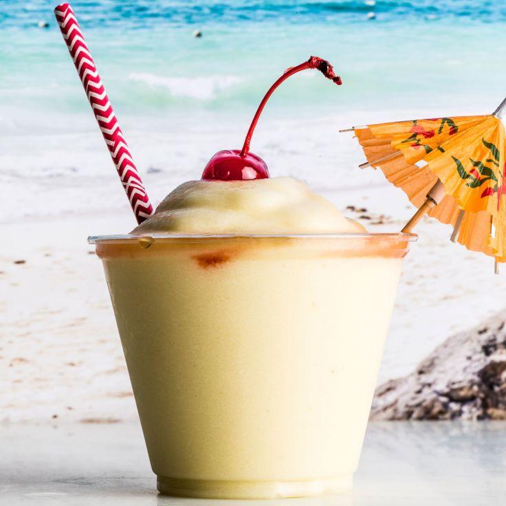 Frozen Coconut Rum Drink Recipes