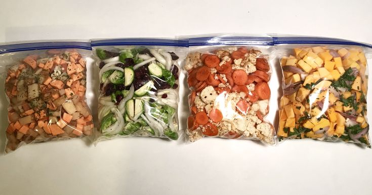 Forget tiresome weeknight chopping and prep these four-ingredient bags for fast and easy roasting.